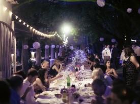 poročna pogostitev, jezeršek, poroka, zaobljuba