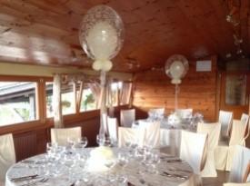 poročna dekoracija, baloni, magic, prostor z baloni