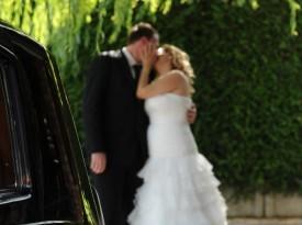 Tanja in Boris poljub