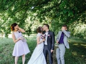Poroka, Tea in Matej, Zaobljuba.si