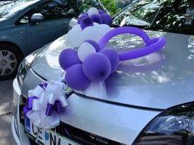 Okrasitev poročnega avtomobila