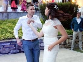 mladoporočenca, poroka, zaobljuba, poročni ples