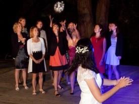 mladoporočenca, poroka, zaobljuba, poročni šopek