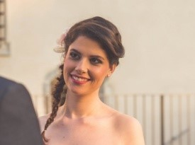 Poročna pričeska_Tamara Rožanec