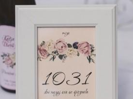 Finimini - oznake poročnih miz