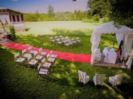 Poročni prostor, poročna pogostitev, poročna lokacija, ošterija prnoni