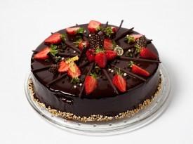 Čokoladna poročna torta