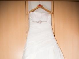 poročna obleka, mod art
