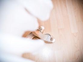 poročni čevlji, poročni kotiček