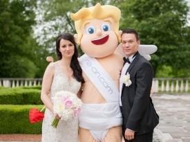 poroka, nevesta, poročna obleka, brdo, zaobljuba,onaon, kupidko