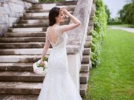 poroka, nevesta, poročna obleka, brdo, zaobljuba,onaon