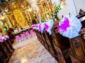 poročni obred, cerkev, okras