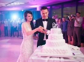 poročni prostor, brdo, poroka, poročna torta