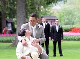 Poroka Sašo in Saša
