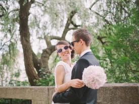 Katja in Mitja poročna fotografija