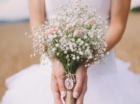 Poročni šopek Nastja Kovačec