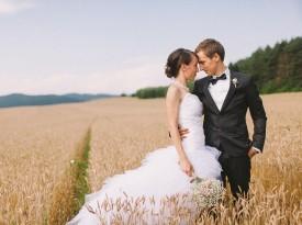 Poročna fotografija Nastja Kovačec