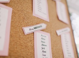 Označevanje poročnih miz