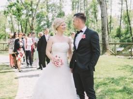 poroka, zaobljuba, modrijanov mlin, sanjska poroka, šik poroka, nastja kovačec, nevesta, ženin