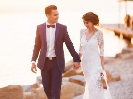 poroka, poročni par, zaobljuba, ljubezen, nevesta, ženin