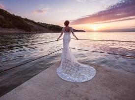nevesta, poročna obleka, čipkasta poročna obleka, bela obleka, poroka