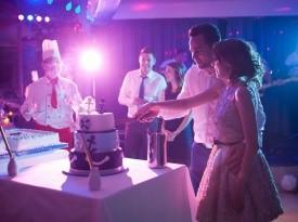 poroka, poročna torta, nevesta, ženin, poročna zabava