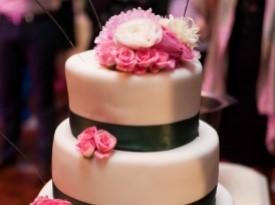Poročna torta.