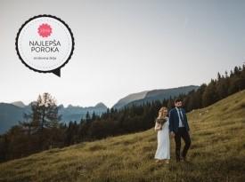 Najlepša poroka leta 2016 po izboru strokovne žirije, najlepša poroka, poroka, Zaobljuba.si, zakonca Grgić