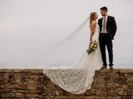 poroka, poročni obred, poročna obleka, zaobljuba