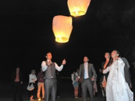 Spuščanje lampijončkov
