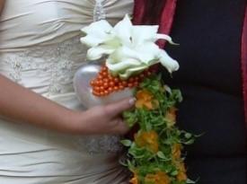 Poročni šopek.