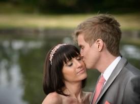 Ženin Nejc in nevesta Nina