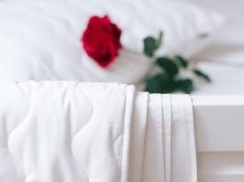 Odeja, posteljnina, poročno darilo, darilo za mladoporočenca