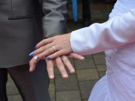 poročna prstana, poroka ona-on.si