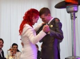 Poročni ples, ples na poroki, poroka ona-on.si