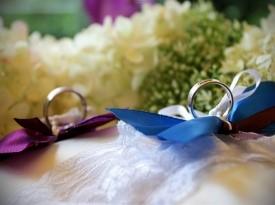 Poroka, poročna prstana