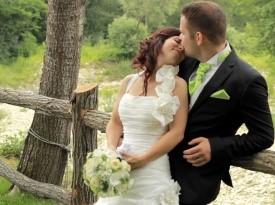 poroka, poročni video, zaobljuba, mladoporočenca