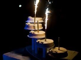 Poročna torta v Termah 3000.