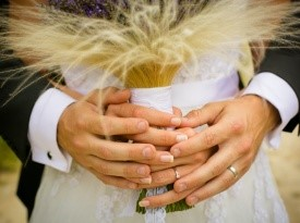 poroka, nevesta, zaobljuba, poročni šopek, ženin