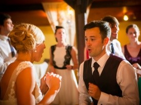 poroka, poročni ples