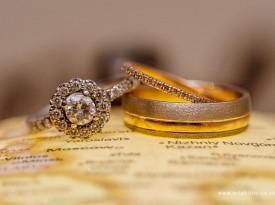 Zaročni in poročni prstan Zlatarnica