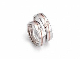 Poročna prstana podjetja Zlatarnica