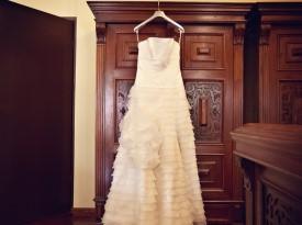 Kendov dvorec, poroka, poročna obleka