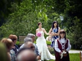 Kendov dvorec, nevesta, poroka, poročna obleka