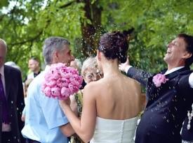 Kendov dvorec, poroka, poročna obleka, poročni šopek