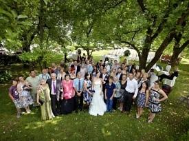 Kendov dvorec, skupinska slika, poroka