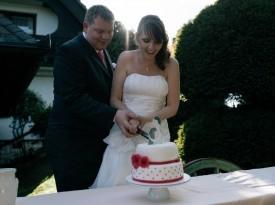 Poročna torta Pcakes