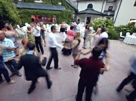 Kendov dvorec, poročna zabava, ples