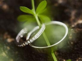 Poročni prstan Aida in Dragan Gaič