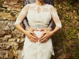 Aida in Draga Gaič poročno fotografiranje
